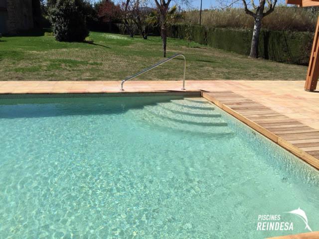 Reindesa rehabilitaci n piscina privada madremanya girona - Piscina devesa girona ...